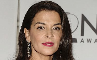 Annabella Sciorra arrives at the 65th annual Tony Awards, in New York on June 12, 2011. (AP/Charles Sykes, File)