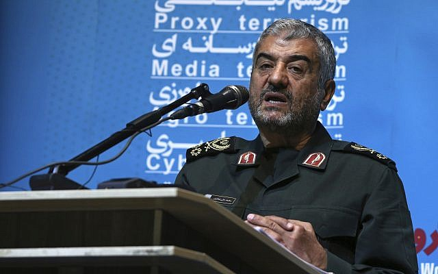 Iran leader appoints new head of revolutionary guards