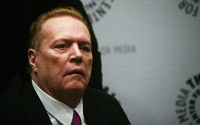 Hustler magazine founder Larry Flynt arrives at the premiere of the documentary 'Larry Flynt: The Right to be Left Alone' at The Paley Center for Media Friday, Oct.ober 26, 2007 in New York. (AP Photo/Gary He)