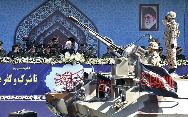 Iran's Guards say missile program will accelerate despite pressure