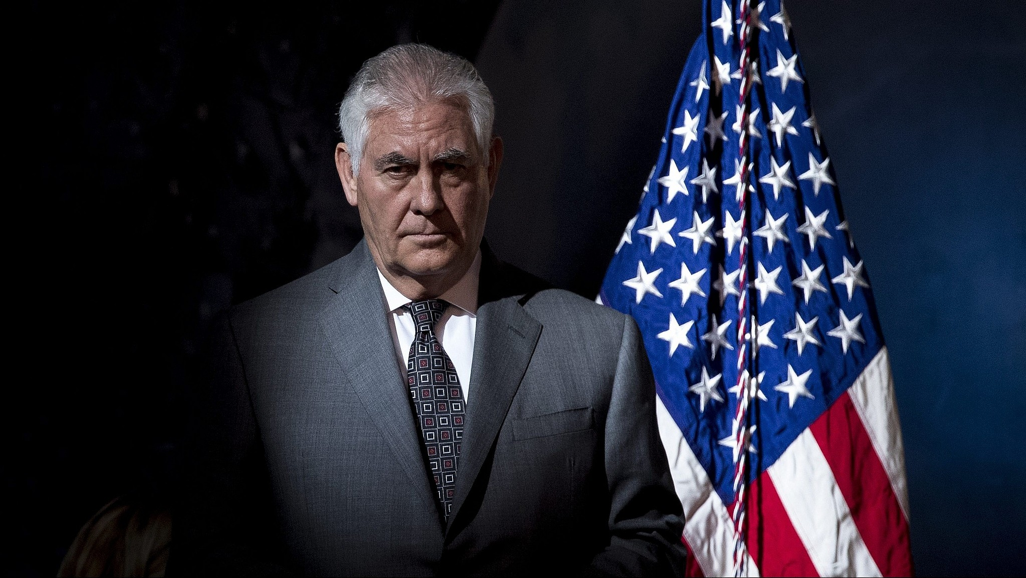 3120af8d0 Secretary of State Rex Tillerson arrives for the first meeting of the  National Space Council in