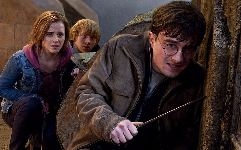Emma Watson, Rupert Grint and Daniel Radcliffe are shown in a scene from 'Harry Potter and the Deathly Hallows: Part 2.' (AP/Warner Bros. Pictures)
