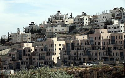 The Nof Zion neighborhood  in Jabel Mukaber, East Jerusalem. (Yossi Zamir/Flash 90)