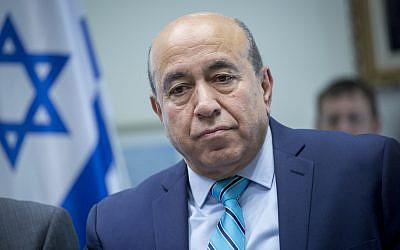 Zionist Union MK Zouheir Bahloul, December 5, 2016. (Miriam Alster/Flash90)