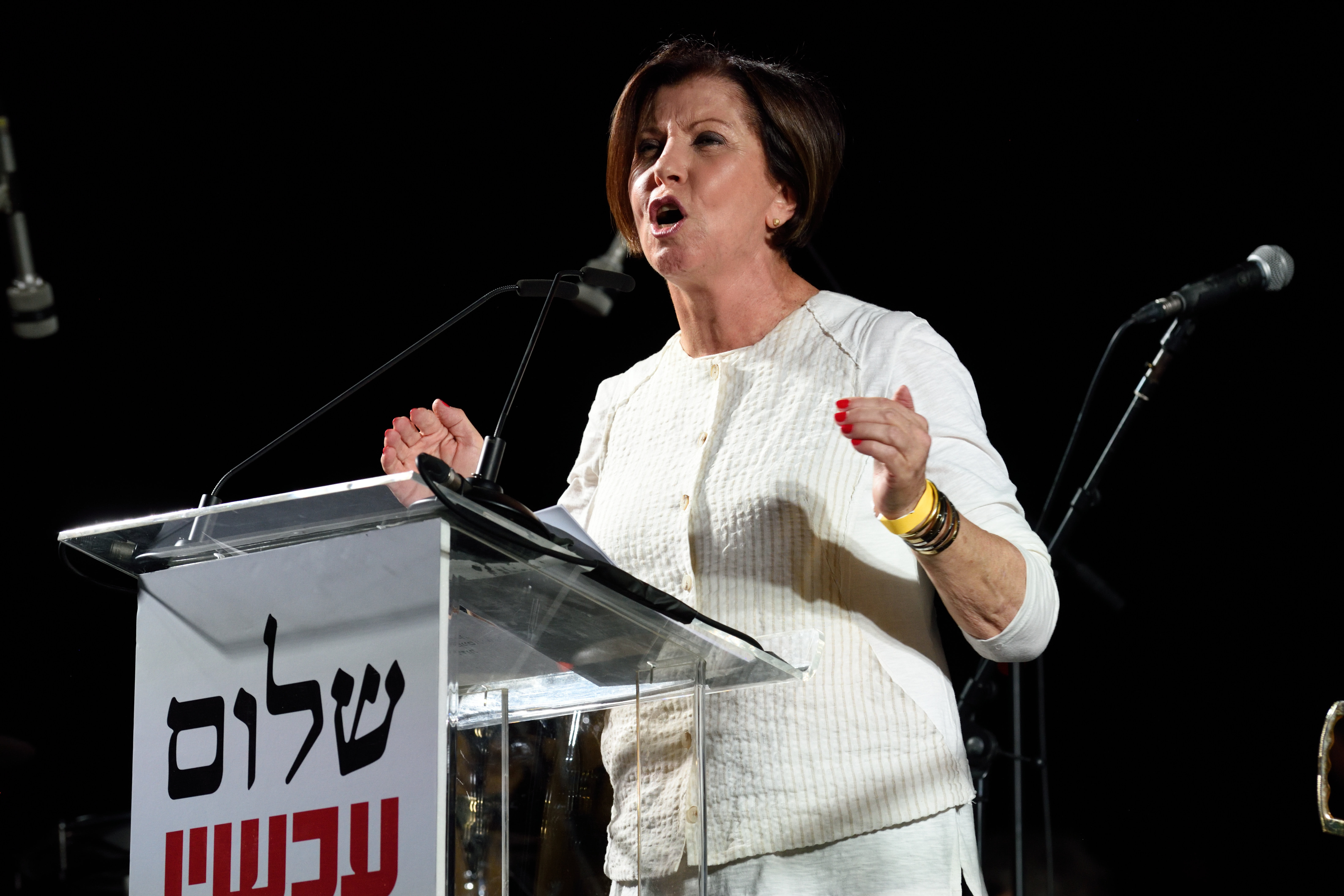 Meretz chief promises to quit politics if she fails to open party ...