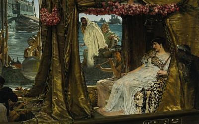 Antony and Cleopatra, by Lawrence Alma-Tadema (Public domain)