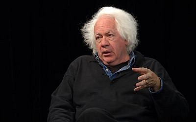 Screen capture from video of then literary editor at the The New Republic, Leon Wieseltier in 2014. (YouTube/University of California Television)