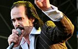 Aussie rocker Nick Cave will perform in Tel Aviv on November 19 and 20, standing up to BDS (CC BY Alterna2, Wikipedia)
