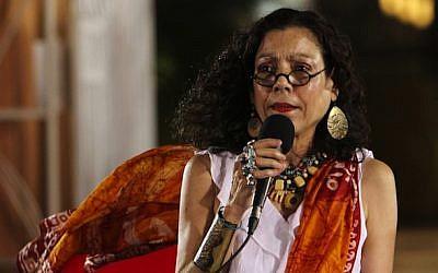 Nicaragua's vice president Rosario Murillo. (CC BY-SA Tavox13, Wikimedia commons)