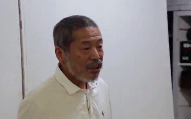 Japanese artist Noriyuki Haraguchi. (Screen capture/YouTube)