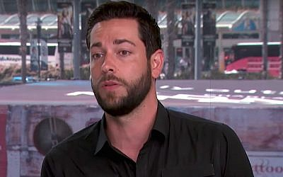 Zachary Levi (Screen capture: YouTube)