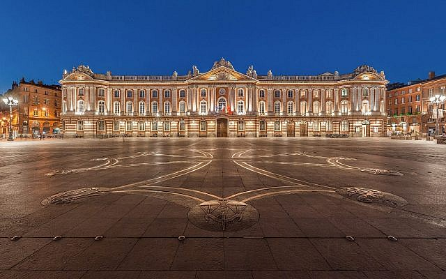 The French city of Toulouse's city hall. The mayor's office in the city referred the parents of a child to prosecutors for naming him 'Jihad' in August 2017. (CC BY-SA .30, Benh Lieu Song, Wikipedia)
