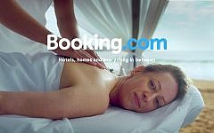 An illustrative image of the online travel reservation website Booking.com. (YouTube screenshot)