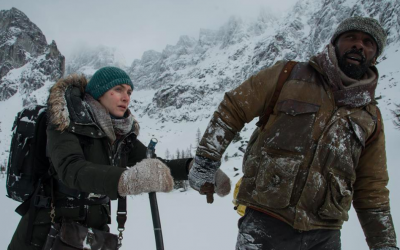 Kate Winslet and Idris Elba battle the elements in 'The Mountain Between Us,' directed by Hany Abu-Assad (Courtesy 'The Mountain Between Us' official Facebook page)