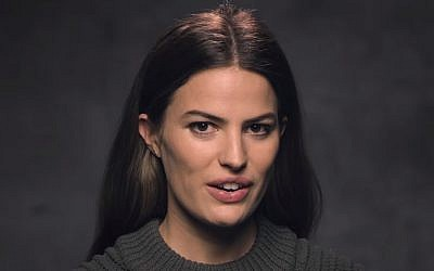Model Cameron Russell in 2017. (Screen capture: YouTube)