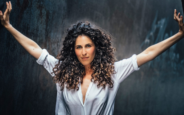 Sara Hershkowitz said the crowd of 15,000 at her Netherlands performance was 'screaming like I was Beyoncé every time I sang above a B natural.' (Thomas Jahn/via JTA)