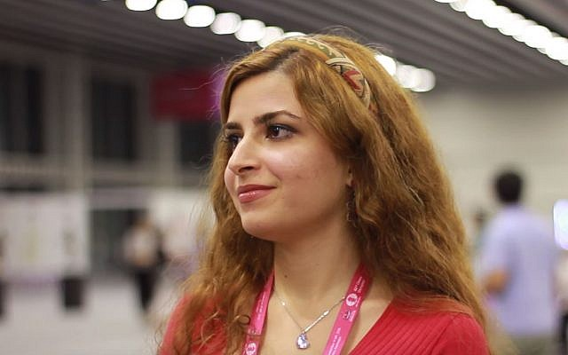 Iranian master chess player Dorsa Derakhshani. (YouTube screenshot)