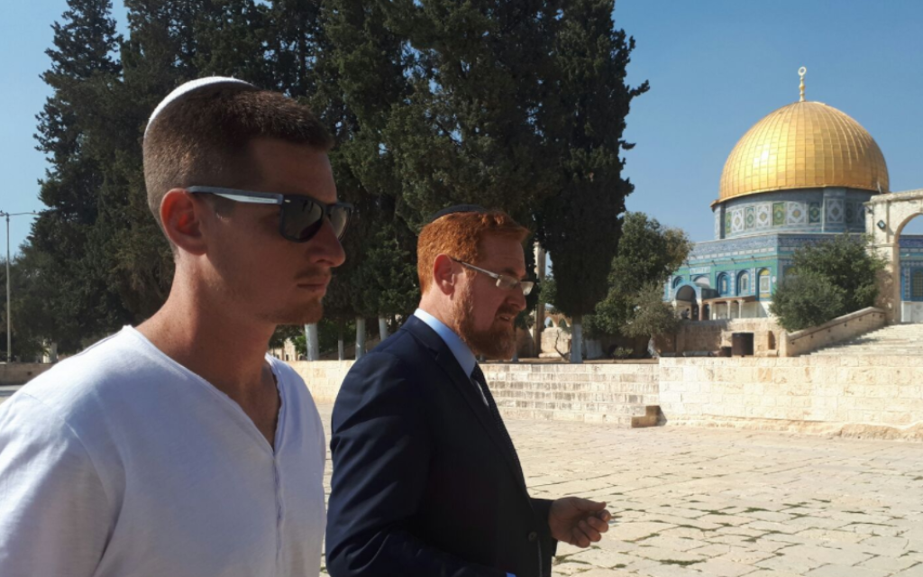 Former Likud MK Yehudah Glick arrested on Temple Mount