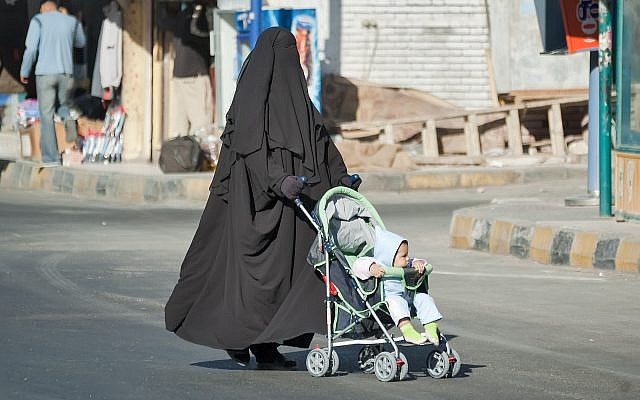 An illustrative photo of a woman in a burqa. (iStock/Getty Images)
