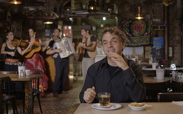 Etgar Keret is the subject of a Dutch-made documentary about his storytelling and the people around him in 'Etgar Keret: Based on a True Story' (Courtesy Stephane Kaas)