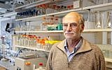 Brandeis University biology professor Michael Rosbash is one of the winners of the 2017 Nobel Prize for Medicine. (Courtesy of Brandeis University via JTA)