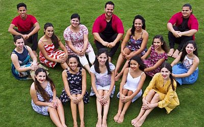 The Soler family will perform with dancers from around the world at the Jerusalem Pais Arena on October 10, 2017. (courtesy Soler family)