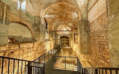Former military compound and prison, the Kishle, accessibly only via organized tours. (Noam Chen)