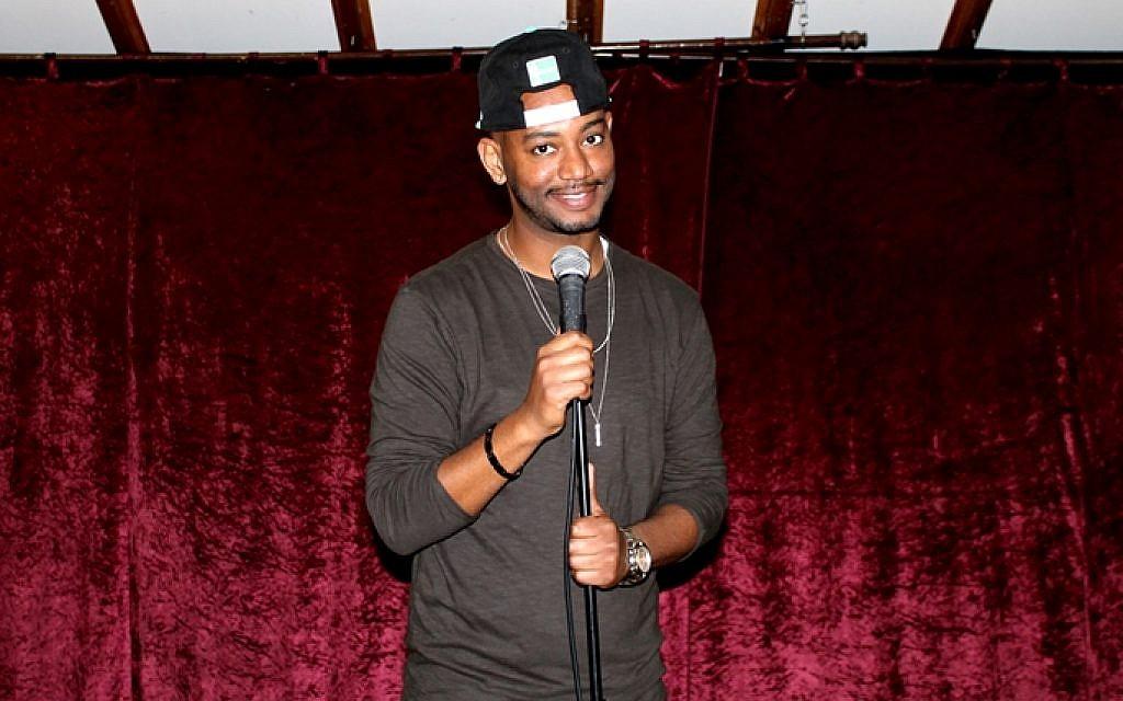 Comic Shlomo 'BabyBaby' Shmuel will perform his one-man show at The Eighth Hullageb Israeli-Ethiopian Arts Festival in December (Courtesy Esther Wonde)