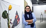 Asli Sumer, owner of the gallery Art Sumer, poses during an interview in Istanbul on November 1, 2017. (AFP/Ozan Kose)