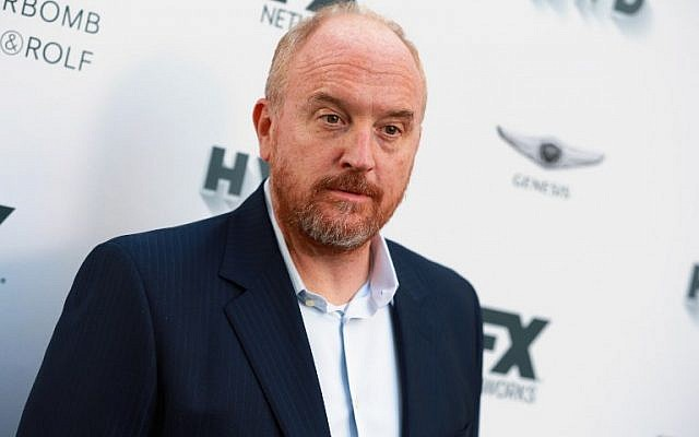 This file photo taken on September 15, 2017 shows Louis C.K. attending FX and Vanity Fair Emmy Celebration at Craft in Century City, California. ( AFP PHOTO / GETTY IMAGES NORTH AMERICA / Rich Fury)