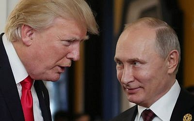 Moscow drafts a blueprint for the Putin-Trump summit in Helsinki