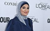 Activist Linda Sarsour attends Glamour's 2017 Women of The Year Awards at Kings Theatre on November 13, 2017 in Brooklyn, New York. (AFP/Angela Weiss)