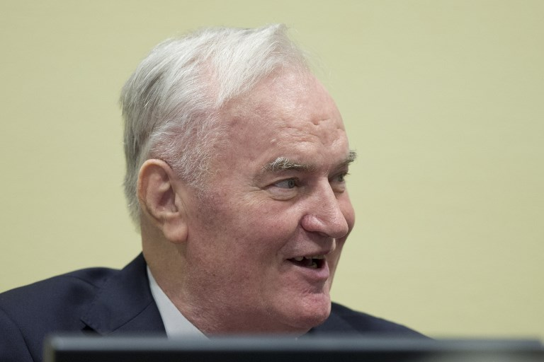 Ratko Mladic sentenced to life imprisonment