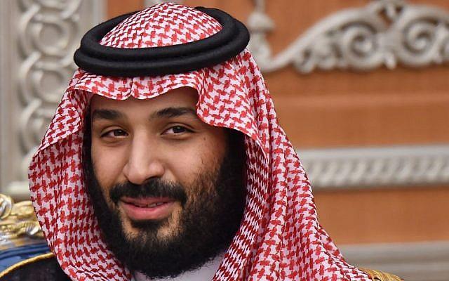 Saudi Crown Prince Mohammed bin Salman attends a meeting in Riyadh, November 14, 2017. (AFP/Fayez Nureldine)