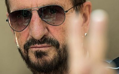 This file photo taken on September 14, 2017 shows British musician and former Beatles member Ringo Starr posing for a photograph in London. (AFP PHOTO / CHRIS J RATCLIFFE)