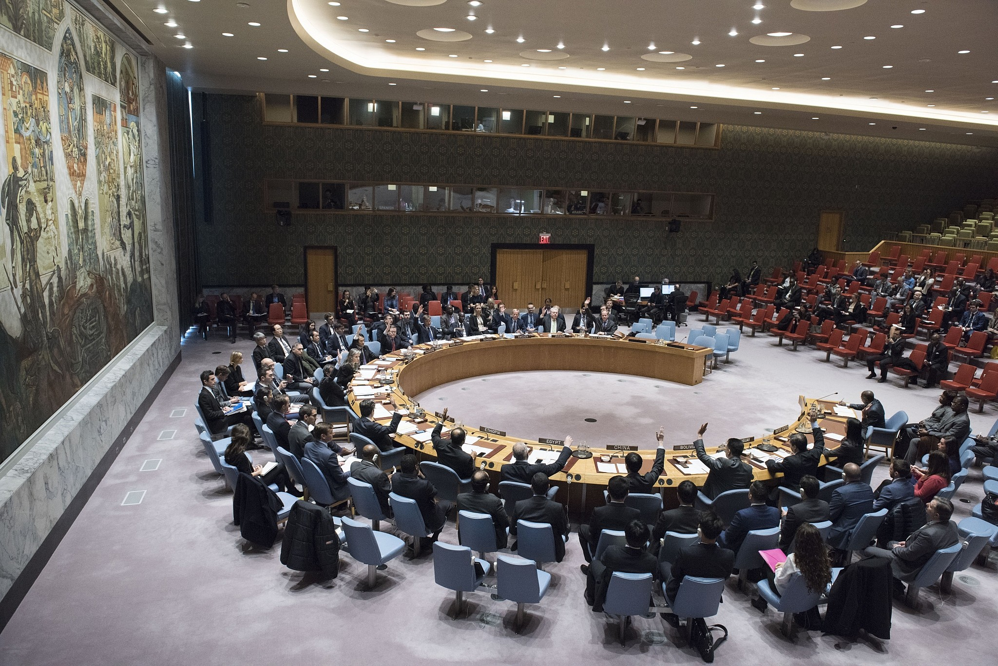Russian Federation  casts 10th United Nations  veto on United Nations  action on Syria