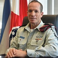 Maj. Gen. Nadav Padan, the head of the army's Teleprocessing and Cyber Defense Directorate, who was named as the incoming head of the IDF's Central Command, in an undated photograph. (Israel Defense Forces)