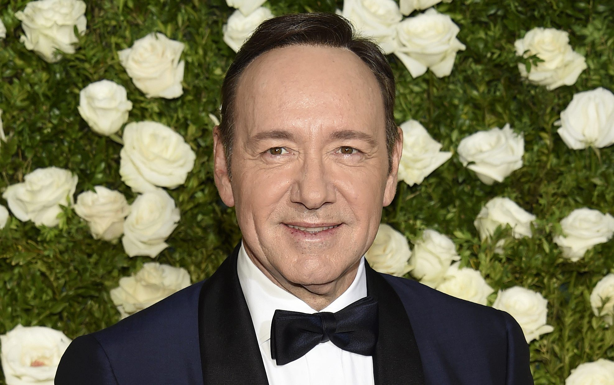 'I woke up with Kevin Spacey lying on me'