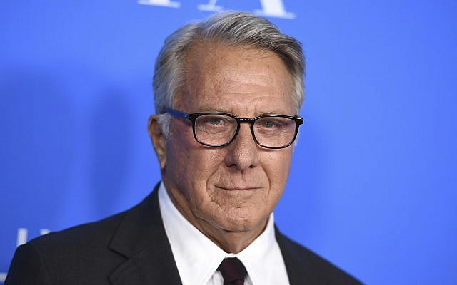 In this Aug. 2, 2017 photo, Dustin Hoffman arrives at the Hollywood Foreign Press Association Grants Banquet in Beverly Hills, California. (Jordan Strauss/Invision/AP)