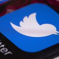 The Twitter app on a mobile phone. (AP Photo/Matt Rourke, File)