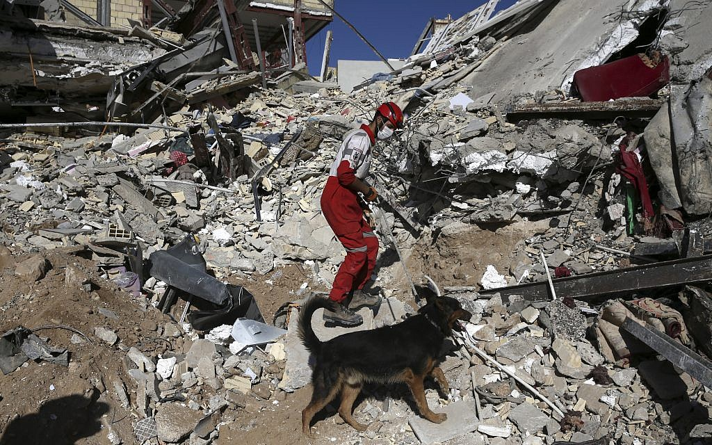 Israel offers medical aid to Iran, Iraq after quake rocks region