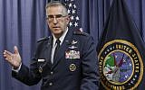 Air Force Gen. John Hyten, the top officer at US Strategic Command. (AP Photo/Nati Harnik)
