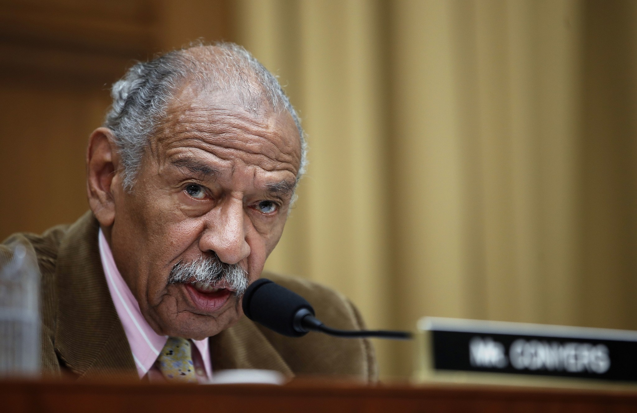 Conyers 'Retiring Today,' Endorses Son to Replace Him