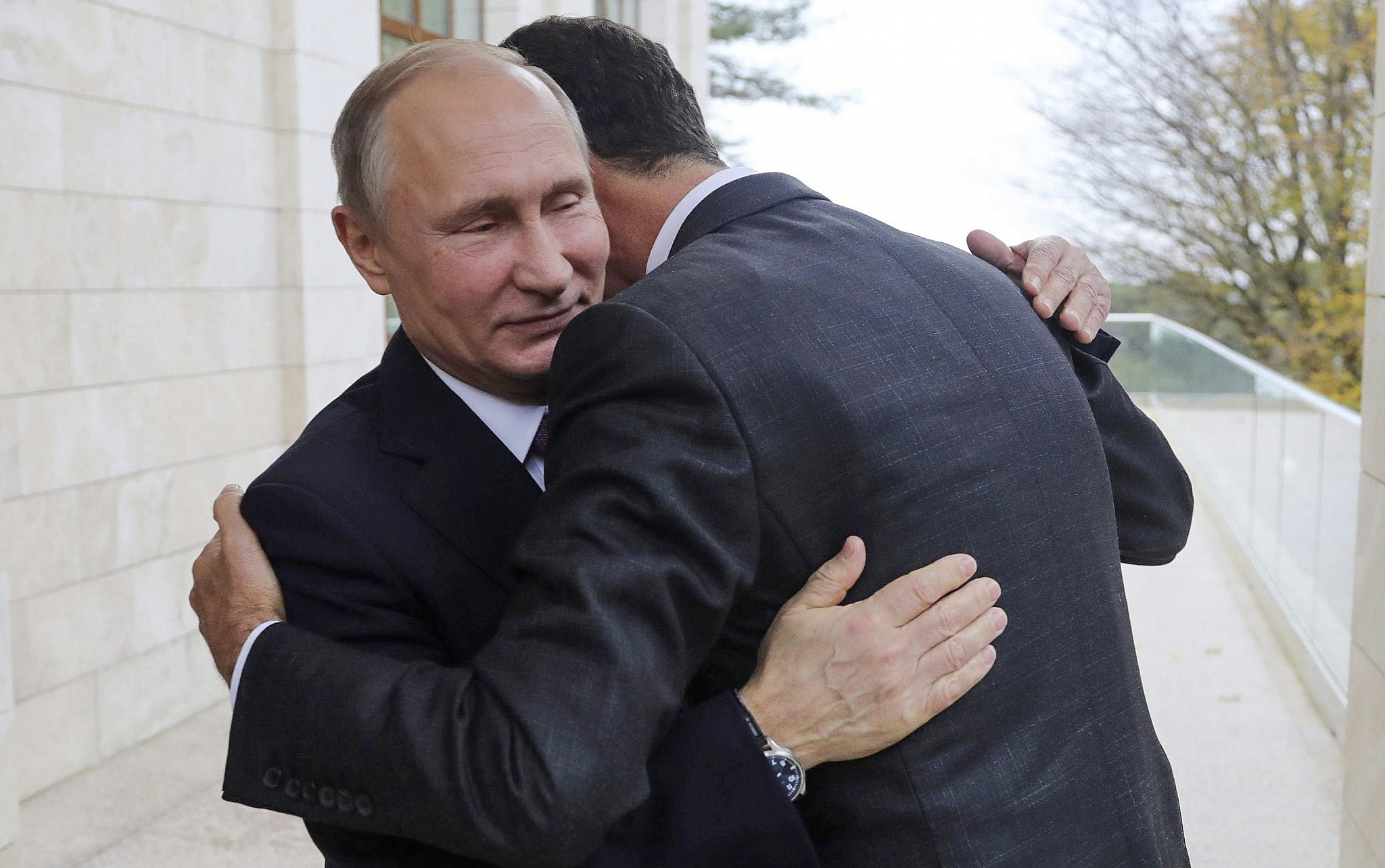 In surprise Russia trip, Assad talks post-war Syria with ...