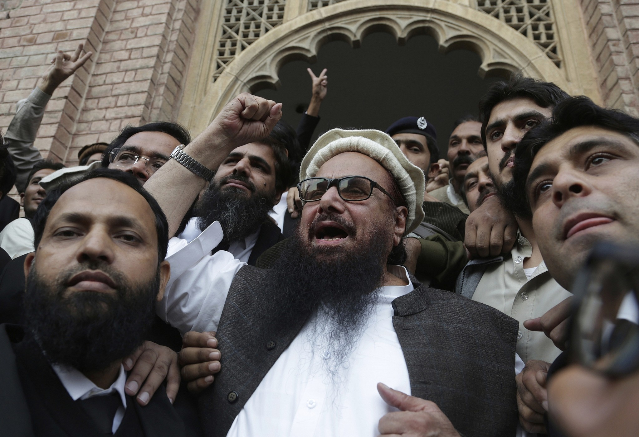 Pakistan releases terrorist behind mumbai attacks that killed hafiz saeed head of the pakistani religious party jamaat ud dawa sciox Image collections