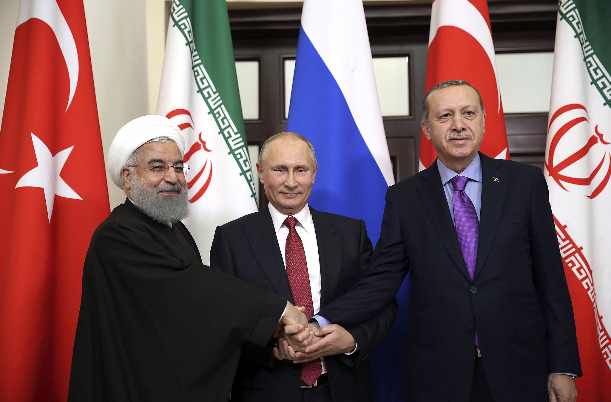 Image result for Syria's Kurds by attempting to form alliances with Russia and Iran