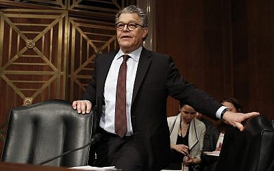In this photo from November 29, 2017, Senator Al Franken (Democrat-Minnesota), arrives at a Senate Health, Education, Labor and Pensions Committee hearing on Capitol Hill. (AP Photo/Carolyn Kaster)