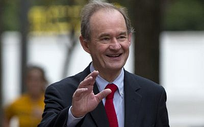 In this Oct. 10, 2014 file photo, attorney David Boies is seen in Washington.  (AP Photo/Carolyn Kaster, File)