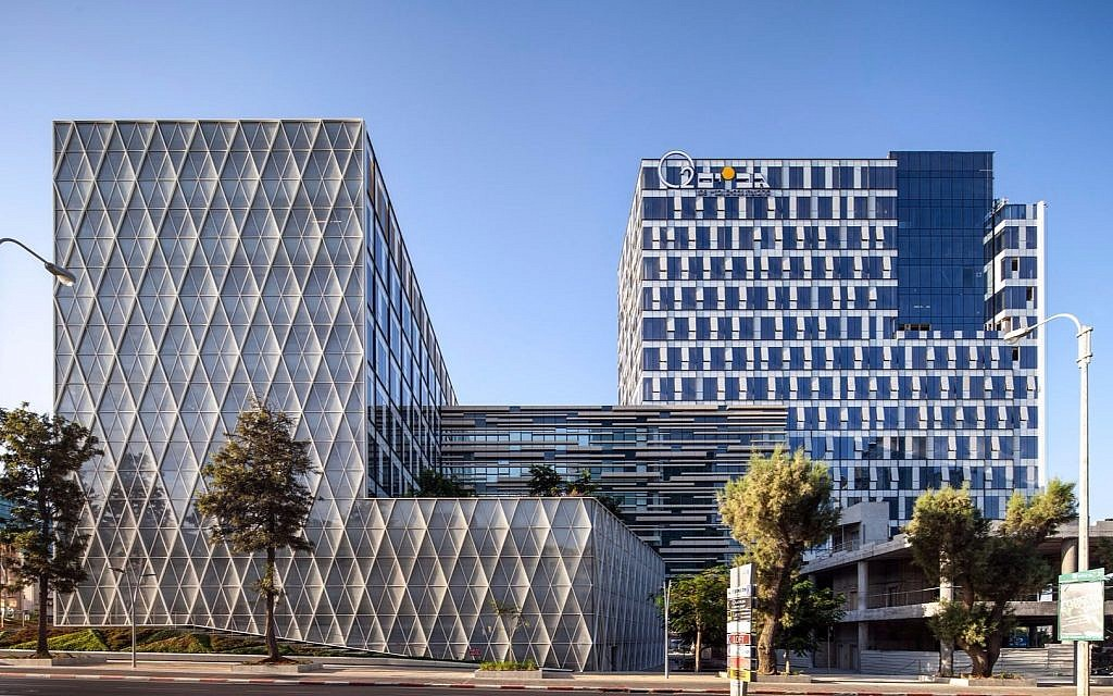 Apple's R&D Center in Herzliya, designed by Yashar Architects Ltd. (Courtesy Amit Geron)