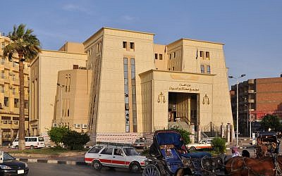 A courthouse in Aswan, Egypt (CC-BY SA Marc Ryckaert/Wikipedia)